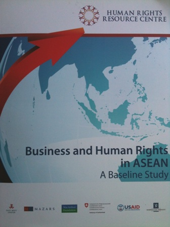 Business and human rights in ASEAN: A baseline study