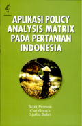 Aplikasi Policy Analysis Matrix Pada Pertanian Indonesia