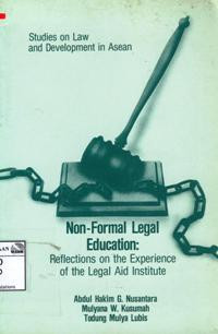 Image of Non-formal legal education: reflection on the experience of the Legal Aid Institute