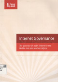 Internet Governance: the quest for an open Internet in the Middle East and Northern Africa