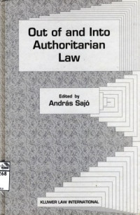 Image of Out of and into authoritarian law
